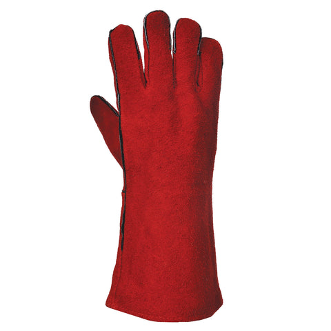 Portwest A500 Red Welders Gauntlet (One Size)