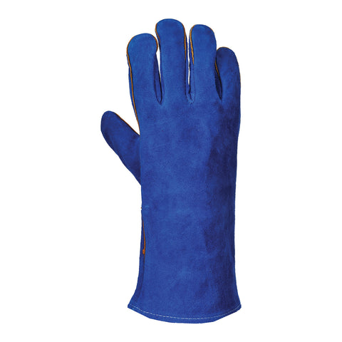 Portwest A510 Blue Welders Gauntlet (One Size)