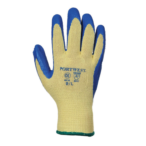 Portwest A610 Cut 3 Latex Grip Gloves