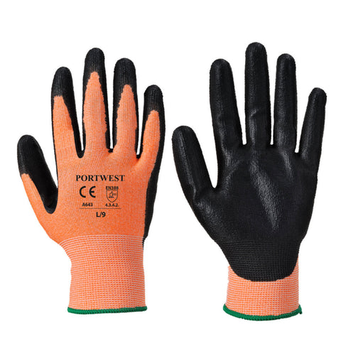 Portwest A643 Amber Cut 3 Gloves