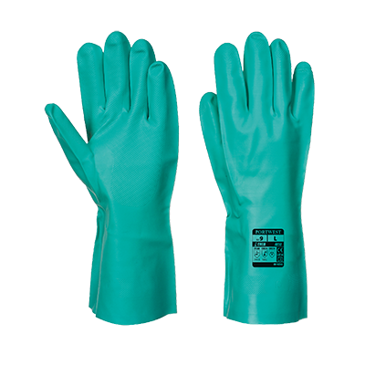 Portwest A810 Nitrosafe Chemical Gauntlets