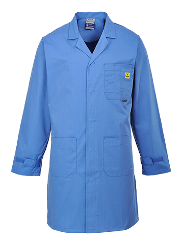Portwest AS10 Anti Static ESD Coat