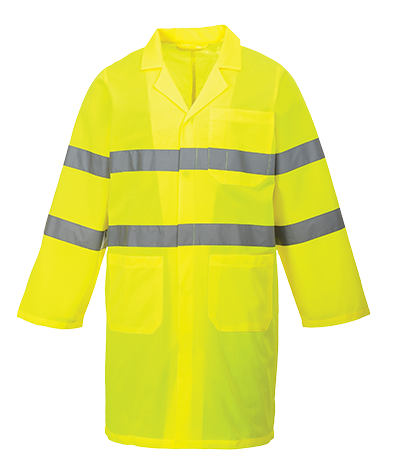 Portwest C052 Hi-Vis Coverall Coat
