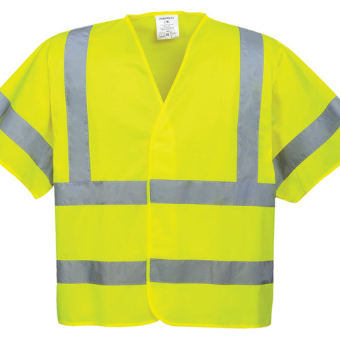 Portwest C471 Hi-Vis Short Sleeved Vest