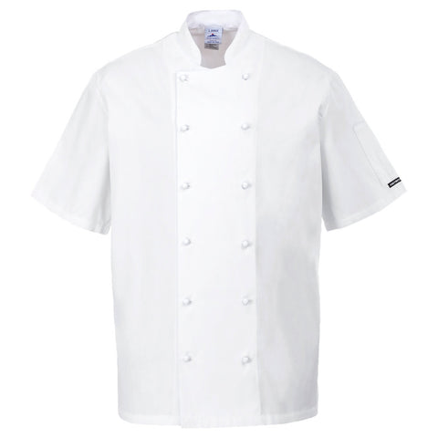 Portwest C772 - Newport Chefs Jacket