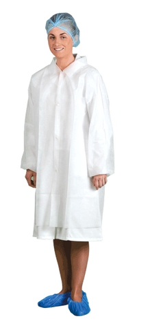 Portwest D118 Disposable Visitors Coat (200 units)