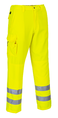 Portwest E046 Hi-Vis Combat Trousers
