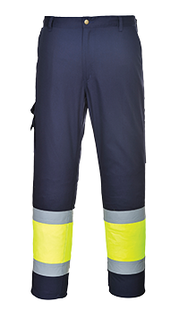 Portwest E049 Hi-Vis Two Tone Combat Trousers