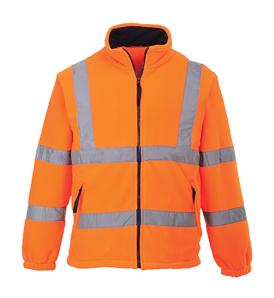 Portwest F300 Hi-Vis Mesh Lined Fleece