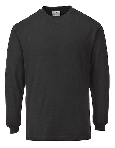 Portwest FR11 Flame Resistant Anti-Static Sleeve T-Shirt