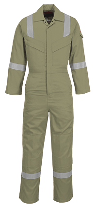 Portwest FR21 Flame Resistant Super Light Weight Anti-Static Coverall