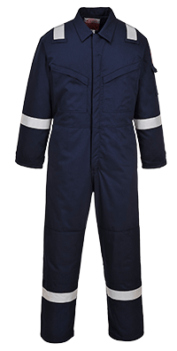 Portwest FR52 Padded Winter Anti Static Coverall