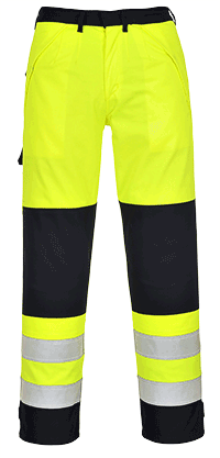 Portwest FR62 Hi-Vis Multi Norm Trousers