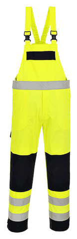 Portwest FR63 Hi-Vis Multi Norm Bib and Brace