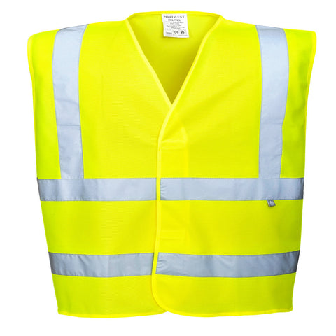 Portwest FR71 Hi-Vis Anti-Static Flame Resistant Vest