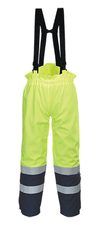 Portwest FR78 Bizflame Multi Arc Hi-Vis Trousers