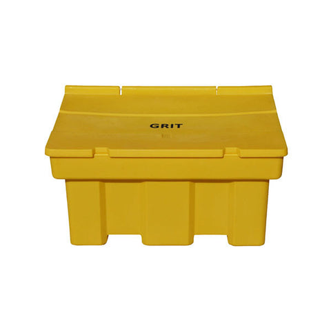 Yellow Stackable Salt Grit Bin