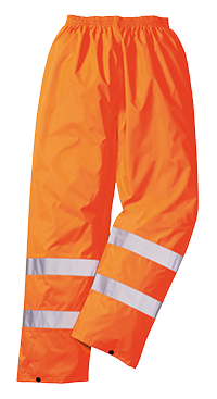 Portwest H441 Hi-Vis Rain Trousers