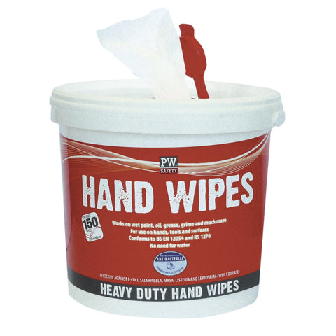 Portwest IW10 Hand Wipes (150 Wipes)