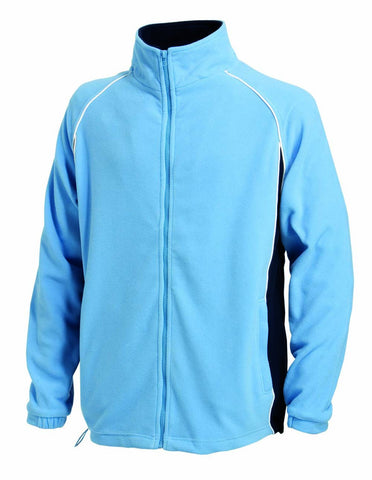 Finden & Hales LV550 Piped Microfleece Jacket