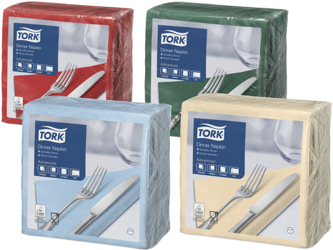 Tork Dinner Napkins (1800 units)
