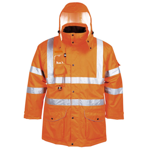 Portwest RT27 Hi-Vis 7-in-1 Traffic Jacket
