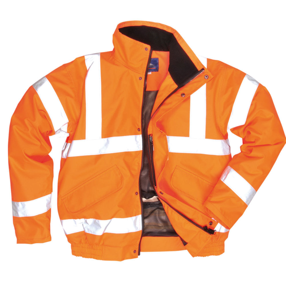 Portwest RT62 Hi-Vis Breathable Bomber Jacket