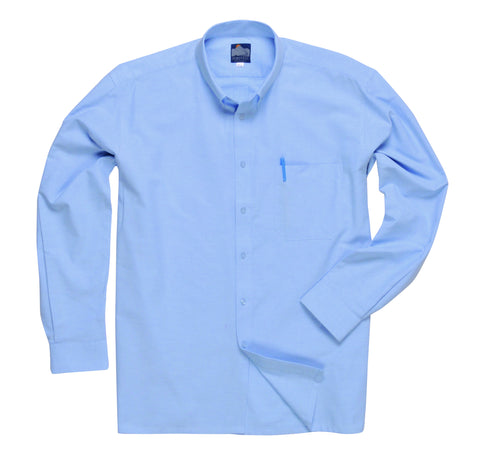 Portwest S107 Long Sleeve Oxford Shirt