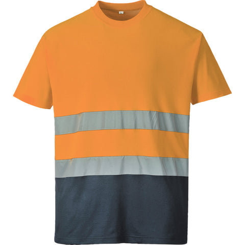 Portwest S173 - Two Tone Cotton Comfort T-Shirt