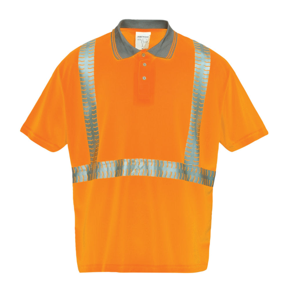 Portwest S377 - Superior Hi-Vis Polo Shirt