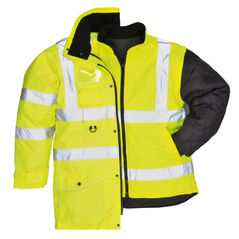 Portwest S427 Hi-Vis 7-in-1 Traffic Jacket