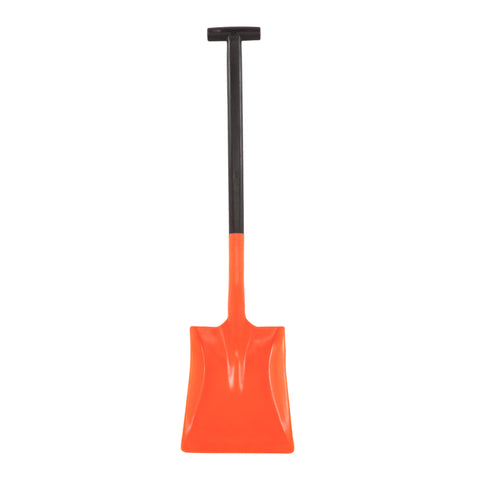 Two piece winter car snow shovel