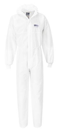Portwest ST35 BizTex SMS Coverall (Knitted Cuff) Type 5/6 (50 units)