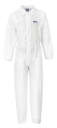 Portwest ST38 BizTex SMS Coverall with Collar Type 5/6 (50 units)