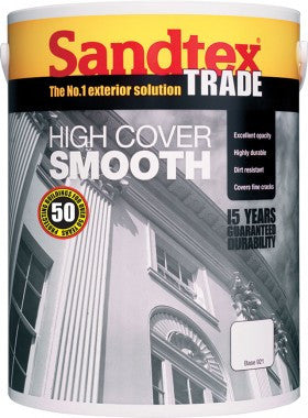 Sandtex High Cover Smooth Masonry Paint