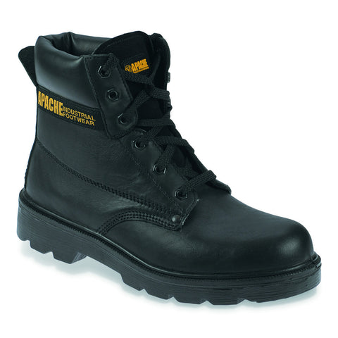 Apache AP300 Black Safety Boot
