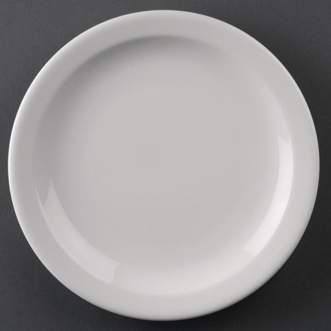 Athena Narrow Rimmed Plate - Case of 12