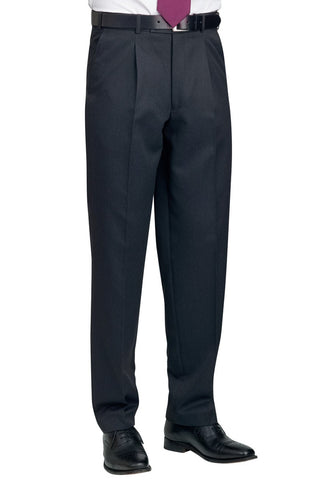 Brook Taverner 8515 Delta Single Pleat Trouser
