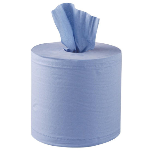 Blue Centrefeed Rolls 2 ply (6 Pack)
