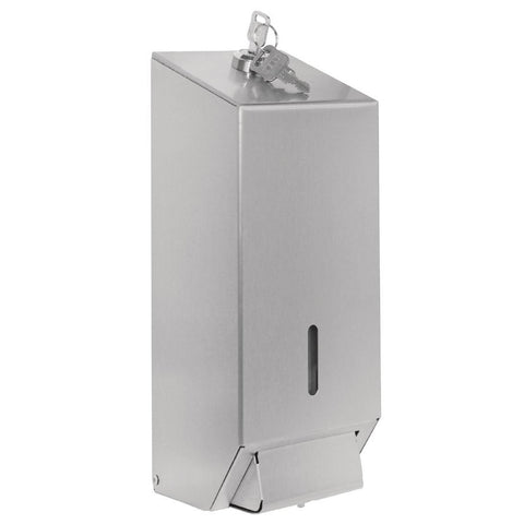 Jantex GJ034 Stainless Steel 1 Litre Soap Dispenser