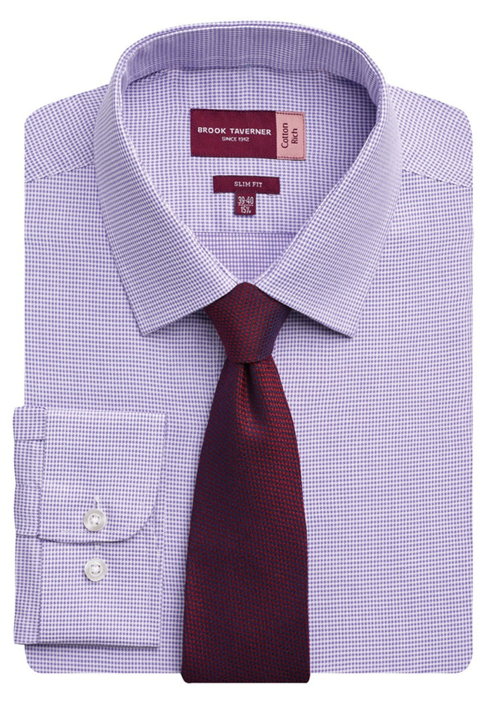 Brook Taverner 7755 Monza Long Sleeve Slim Fit Shirt