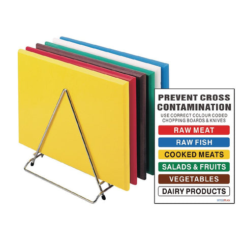 Hygiplas S237 Standard High Density Chopping Board (Small)