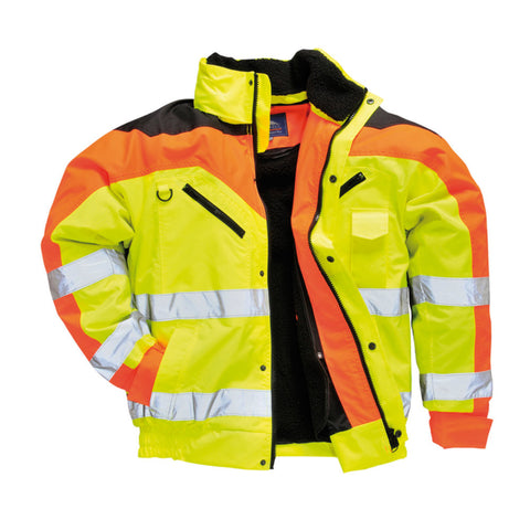 Portwest S464 Contract Plus Bomber Jacket