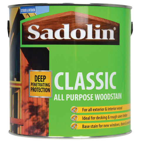 Sadolin Classic Wood Protection - 2.5 litre
