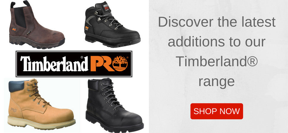 Timberland Safety Footwear Range