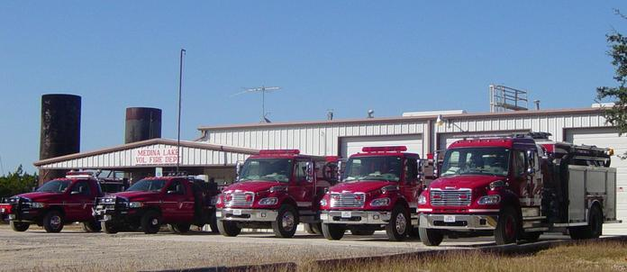 Medina Lake Volunteer Fire Department Supporters
