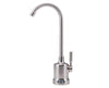 Brushed Nickel Air-Gap Top-Mount Monitored Faucet
