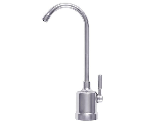 Brushed Nickel Air Gap Top Mount Non Monitored Faucet