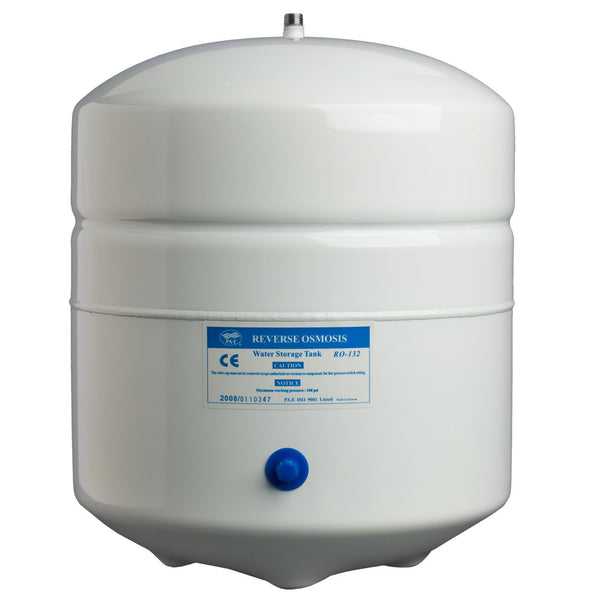 3 Gallon White Metal Storage Tank Watts Premier