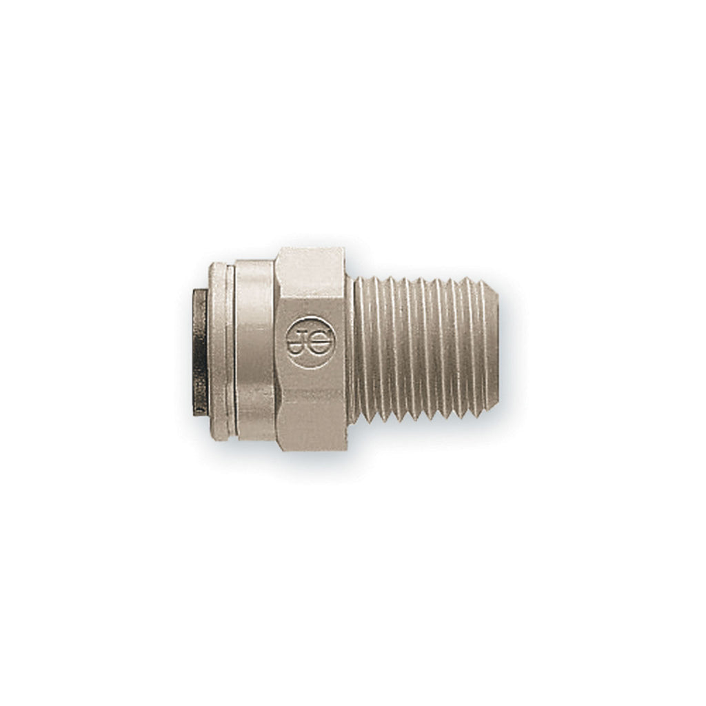 "125086 - 3/8"" Q x 1/4"" MPT - Quick Connect Adapter, by John Guest"